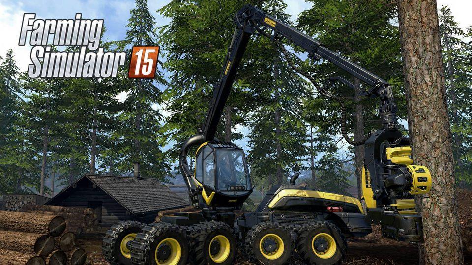 Co nowego w Farming Simulator 15? � wycinamy drzewa i� myjemy traktory