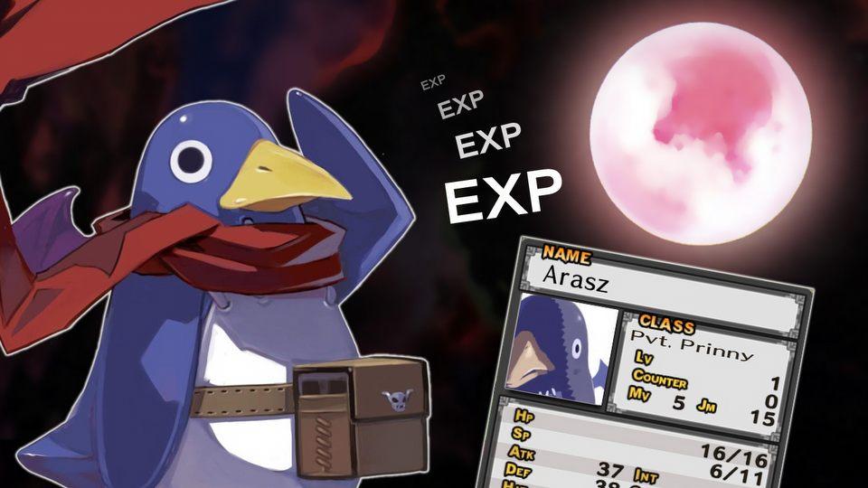 Expienie Arasza w Disgaea PC – dzielny pingwin prezentuje świetny system walki