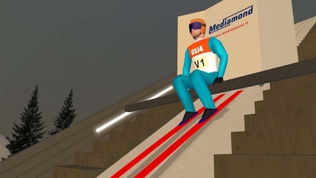Deluxe Ski Jump 4 - gramy w Ma�ysza!