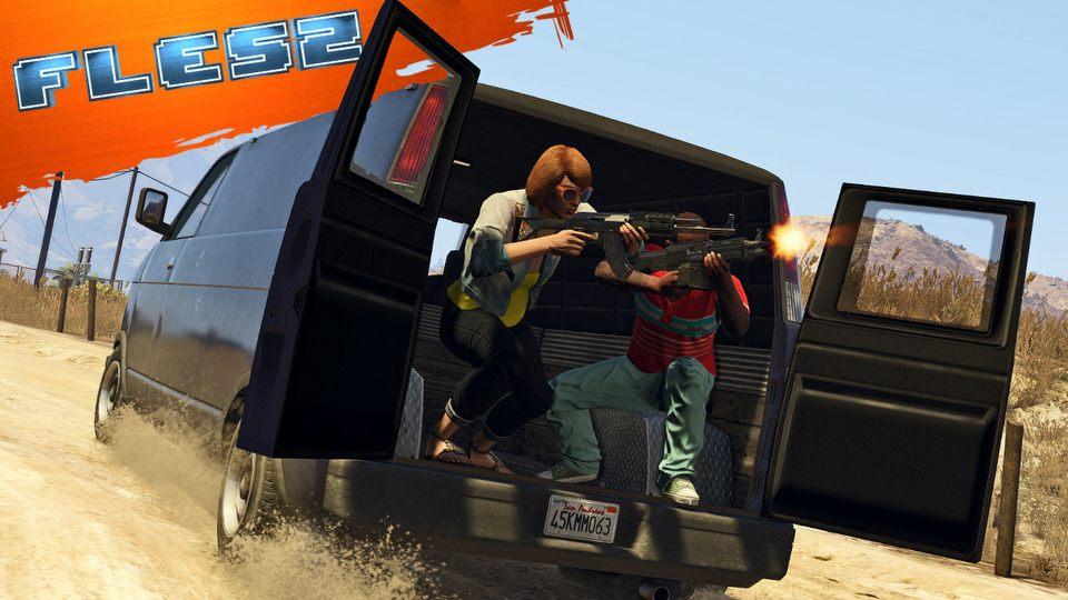 GTA V znowu zalicza po�lizg na PC� FLESZ � 25 lutego 2015