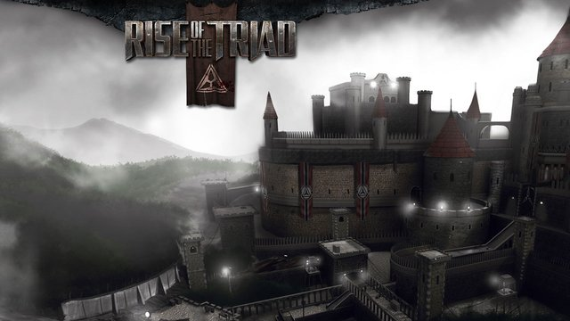 Od�wie�ony Rise of the Triad w akcji.